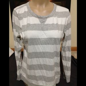 Women's size Large GAP striped comfy top